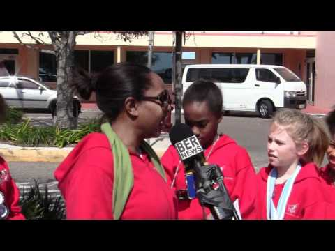 Gymnastics Team Arrive With Medals Bermuda March 4 2012