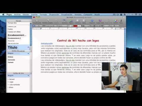 Comenzar a utilizar Pages - Tutorial Pages 09