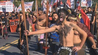 Tauranga Moana protest Hauraki treaty claim