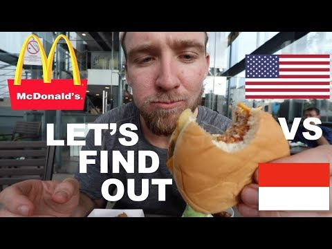 is MCDONALDS in INDONESIA the same as AMERICA?