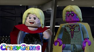 Lego marvel's avengers episode 11 - hulk, thor, captain america, quicksliver, scarlet witch