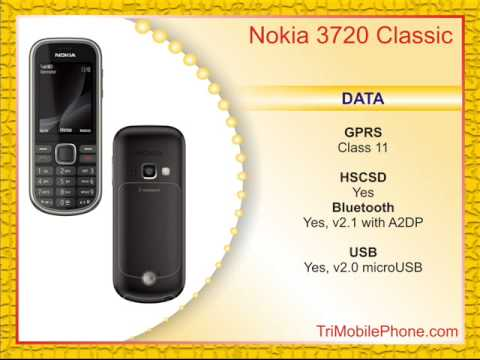 Nokia 3720 classic Mobile Phone Specification, Features and Slide show