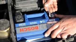 Замена аккумулятора Шевроле Лачетти 1.6 + Bosch S4 60Ah L+(Видео установки аккумулятора Bosch S4 Silver 60Ah L+ на Шевроле Лачетти 1.6 бензин от
