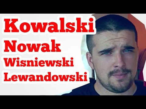 MEANING Of POLISH SURNAMES / LAST NAMES