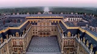 Drone château de Versailles