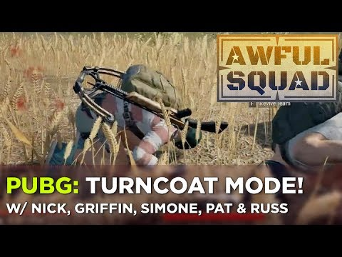 AWFUL SQUAD — Nick, Griffin, Pat, Russ and Simone Trust No One in BATTLEGROUNDS