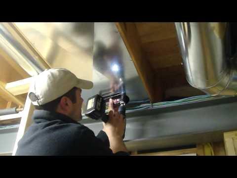Installing Return Air Duct