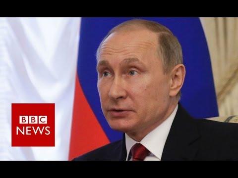 Putin on St Petersburg Metro Explosion - BBC News