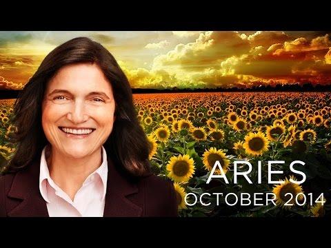 ARIES OCTOBER 2014 - Astrology Forecast - Barbara Goldsmith