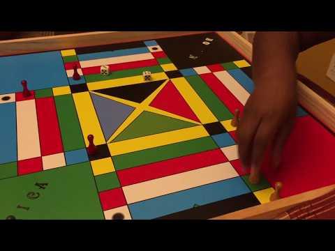 Playing Jamaican Ludo / Ludi / Ludy Family...