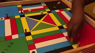 Playing Jamaican Ludo / Ludi / Ludy Family Board Game - Buy Professional Boards on ETSY or Amazon