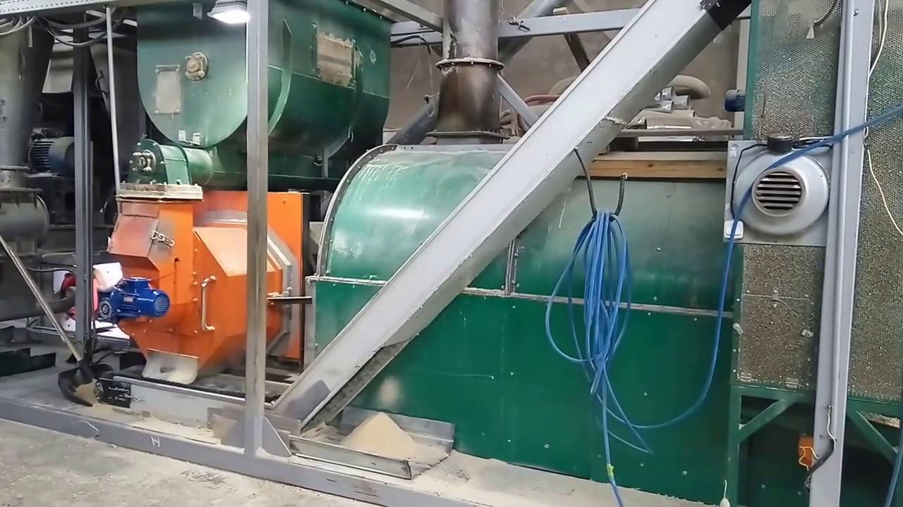 Работа на пресс грануляторах в спб