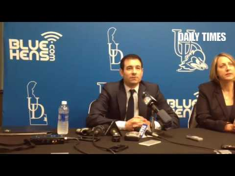 VIDEO: Martin Ingelsby on recruiting to Delaware.