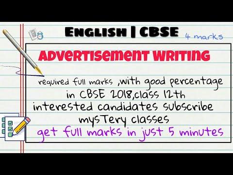 writing an advertisement eng 215