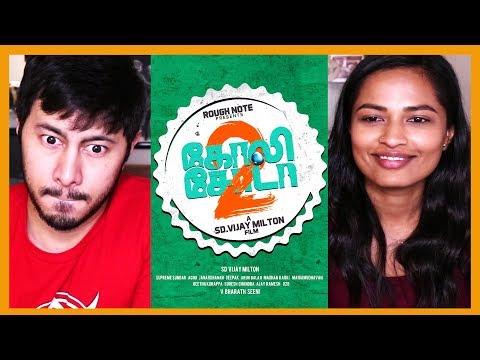 GOLI SODA 1 & 2 | Gautham Vasudev Menon | Samuthirakani | S.D. Vijay Milton |Trailer Reactions!