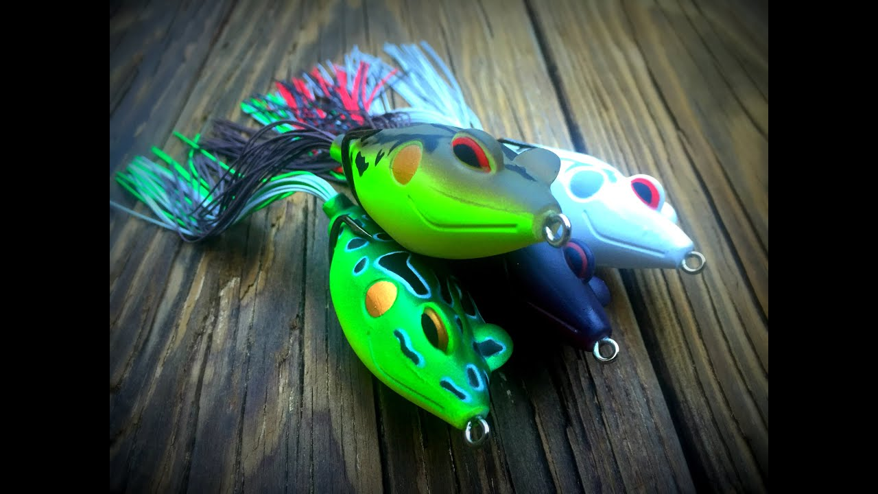 terminator walking frog: big bass crushing top water frogs. - youtube, Soft Baits