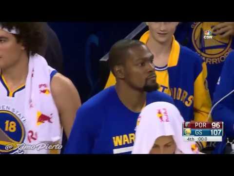 Portland Trail Blazers vs Golden State Warriors   Full Highlights   Oct 21, 2016   NBA Preseason