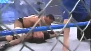 batista vs undertaker steel cage