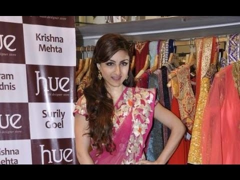 Soha Ali Khan At A Launch Of A New Fashion Line