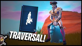 The NEW Traversal BOUNCER Emote in Fortnite!