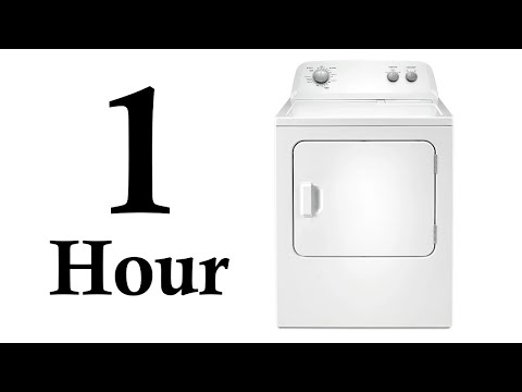 White Noise for babies - 1 Hour Tumble Dryer ASMR - Sleep relaxation music