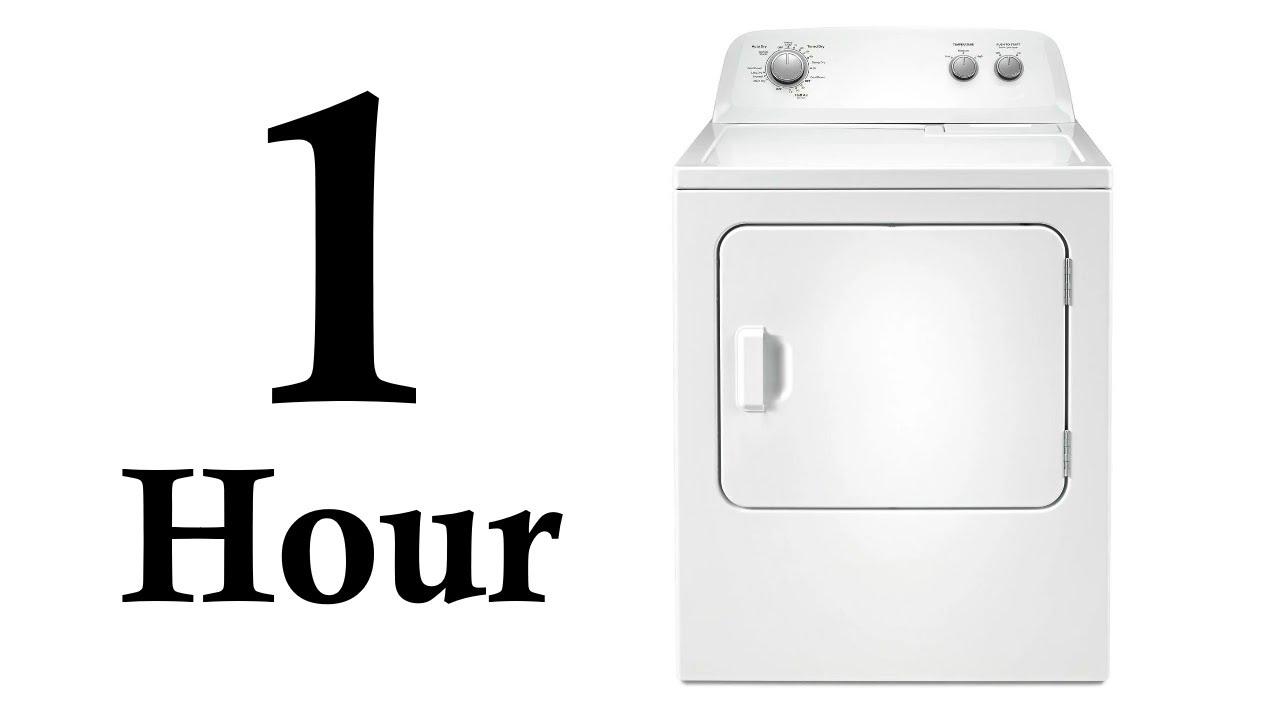 White Noise for babies - 1 Hour Tumble Dryer ASMR - Sleep ...