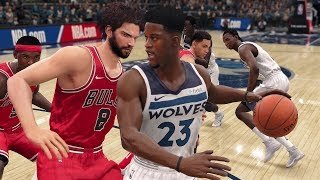 NBA Live 18 Gameplay | Minnesota Timberwolves vs Chicago Bulls (Jimmy Butler Faces Old Team)