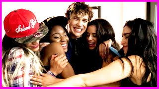"5th Harmony, Austin Mahone & Shawn Mendes ""Ketchup in Your Face!"" - Fifth Harmony Takeover Ep. 28"