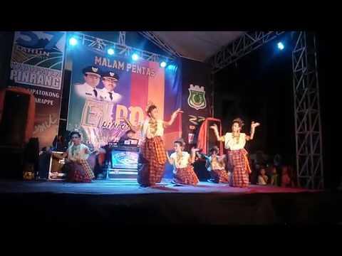 TARI PATTENNUNG SMP NEGERI 1 PATAMPANUA KAB.PINRANG Sulawesi Selatan
