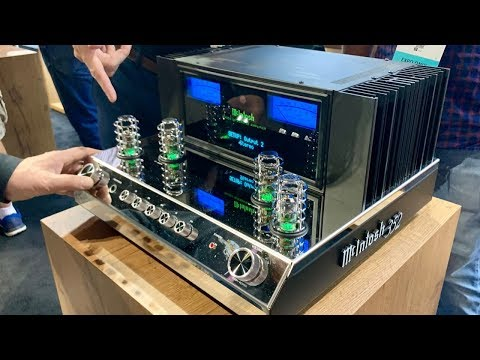 *New* McIntosh MA352 2 Channel Integrated Amplifier, MI128 Digital Amplifier & McIntosh SPEAKERS?!