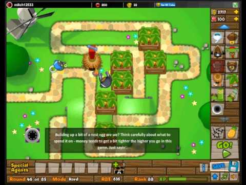 Btd5 track one hard ultimate guide levels 1 85 walk through no cheats