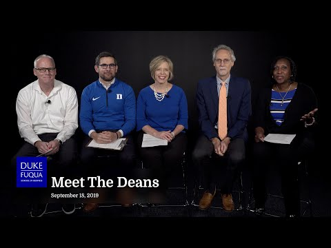 Duke Fuqua: Meet The Deans
