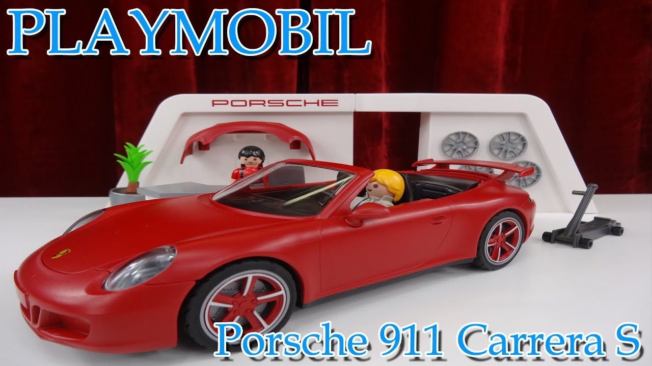 playmobil porsche 911 carrera s vorstellung youtube. Black Bedroom Furniture Sets. Home Design Ideas