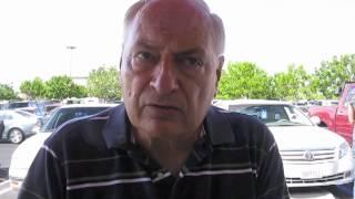 Frank Forsey, 69, of Highland, Calif., Speaks Outside Redlands Chick-fil-A 8/1/2012