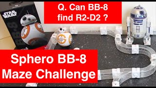 Q. Can Sphero BB-8 find R2-D2 Autonomously in a maze ?  (Patrol Mode)
