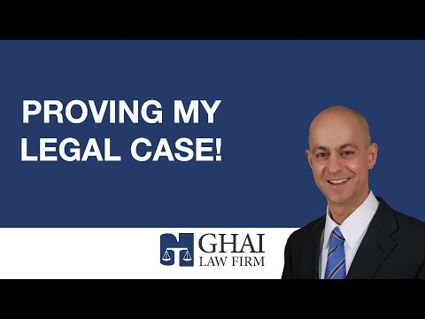 Proving My Legal Case!
