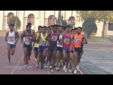 MEN'S 5000m RUN FINAL. 21 st FEDERATION CUP NATIONAL SENIOR ATHLETICS CHAMPIONSHIPS-2017