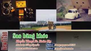 [Karaoke] Sao băng khóc - Huyền Thoại Ft. Xuân Hạ (Beat gốc) - Http://newtitanvn.com