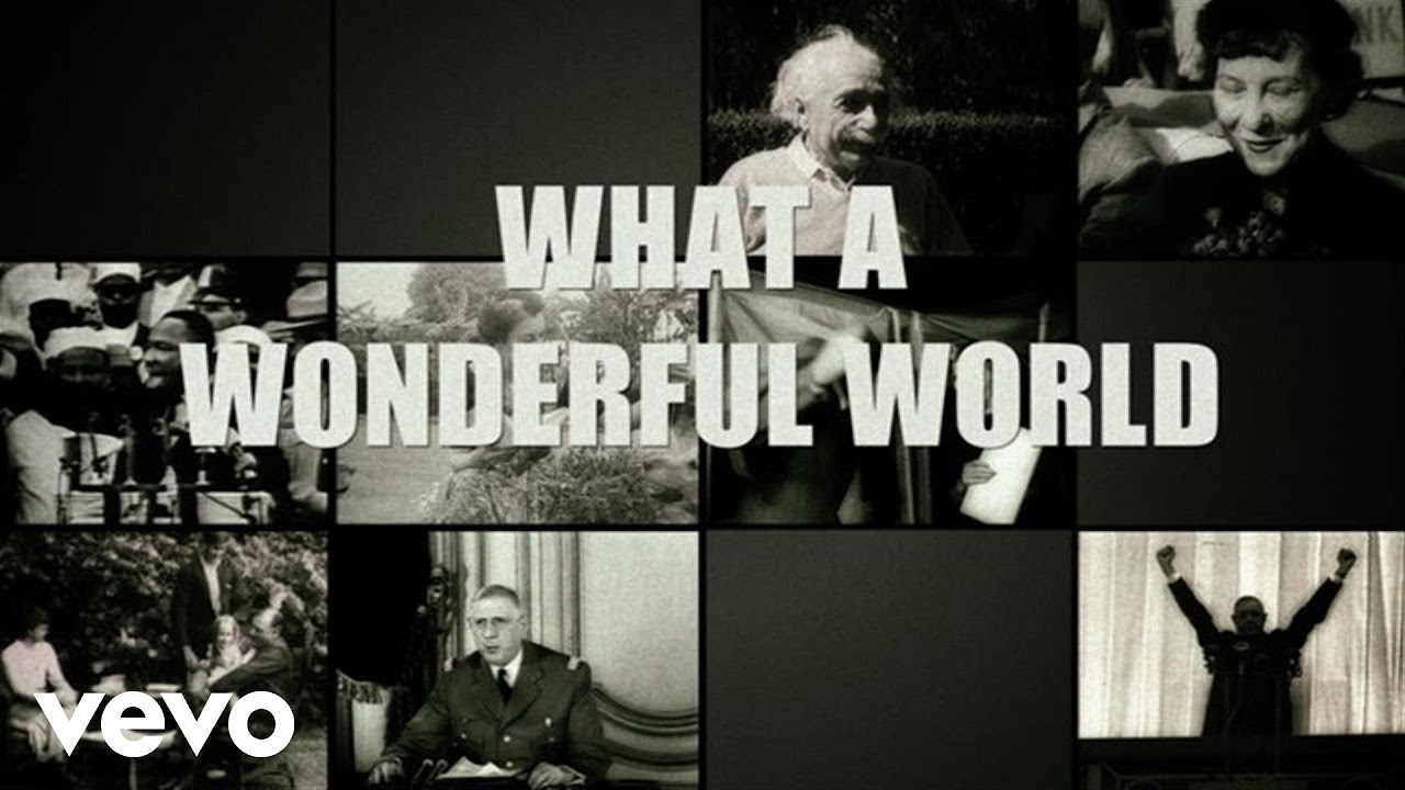 Sam Cooke - What A Wonderful World (Official Lyric Video)