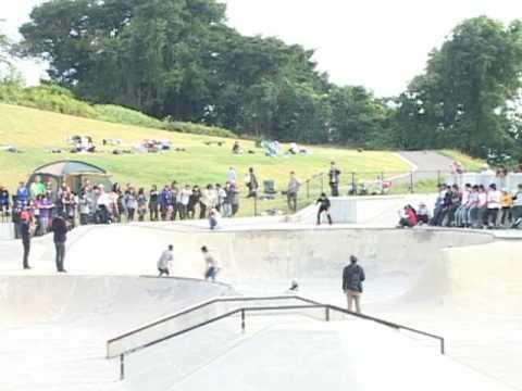 VOLCOM japan tour@SAGAE skatepark