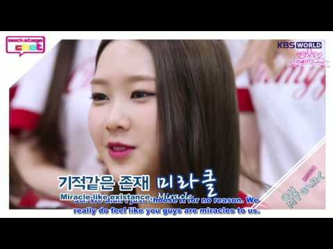 [ENG SUB] KBS World Radio Backstage Chat - Oh My Girl