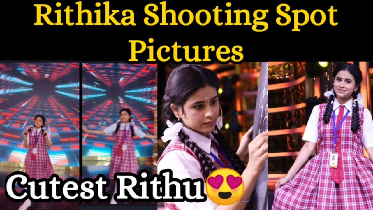 Rithika Cutest Shooting Spot Pictures    Rithika unseen picture😍