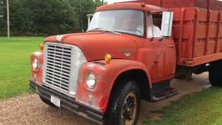 1965 International 1600 Load Star 8 Cylinder 345 Gas Engine 4 Speed Transmission With 2 Speed Elect