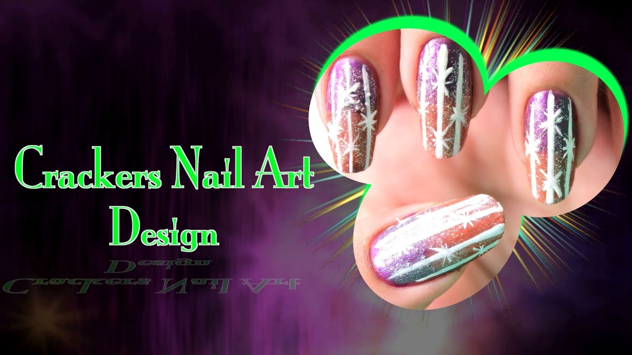 Crackers nail art design do it yourself khoobsurati youtube crackers nail art design do it yourself khoobsurati solutioingenieria Choice Image
