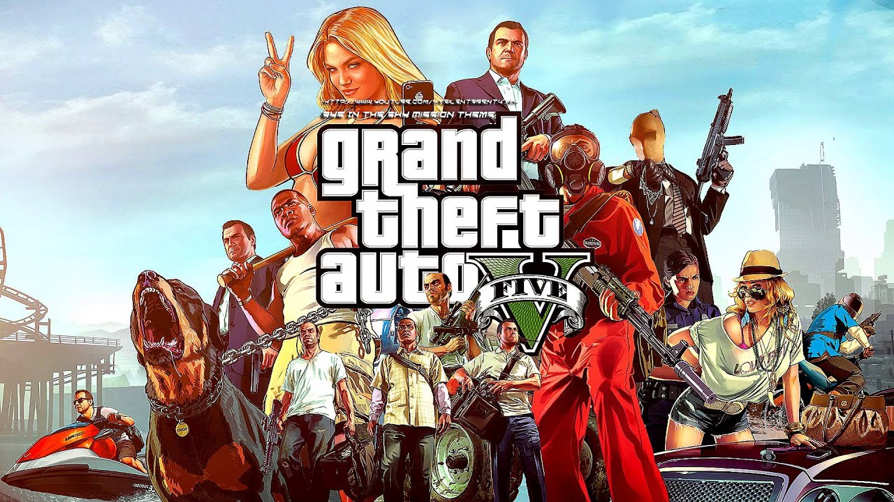 Grand Theft Auto Gta V Eye In The Sky Mission Music Theme