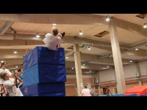 Tricks in the gym!