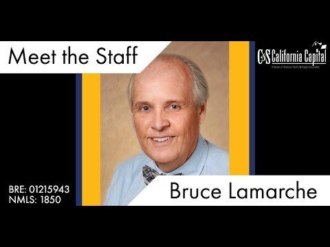 Meet the Staff: Bruce Lamarche!