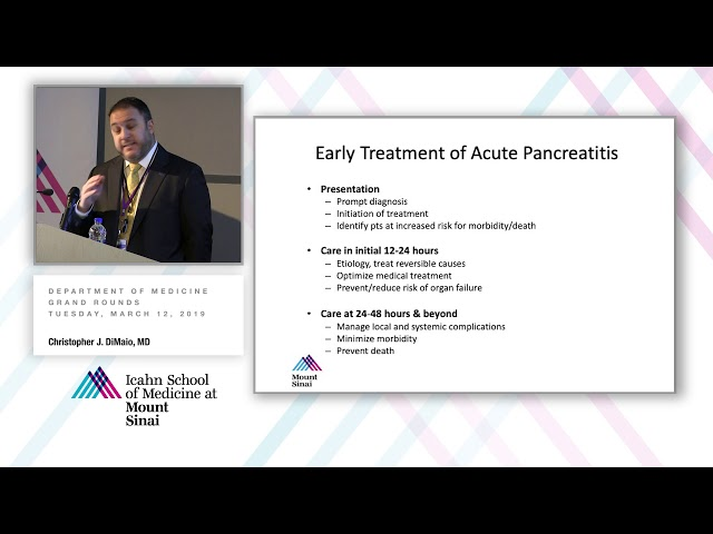 Severe Acute and Necrotizing Pancreatitis: Paradigm Shifts in Management