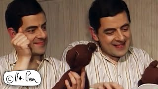 Good Night TALE With TEDDY! | Mr Bean Funny Clips | Mr Bean Official