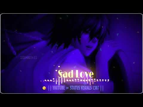 Mujhko Teri Zaroorat Hai Sad Song Blackscreen Whatsapp Status Video